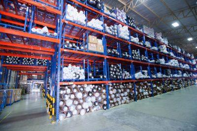 riesgos en almacenes con estanterías de almacenaje