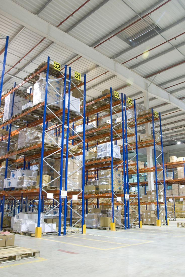 Estantería industrial para el almacenaje de paletas