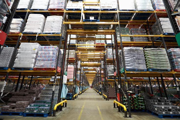 El almacén debe ser un entorno de trabajo seguro y saludable